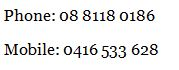 Phone Contact Details